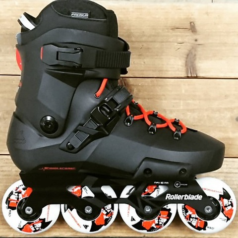 ROLLERBLADE(ローラーブレード)/2021/TWISTER EDGE X/BK-OG
