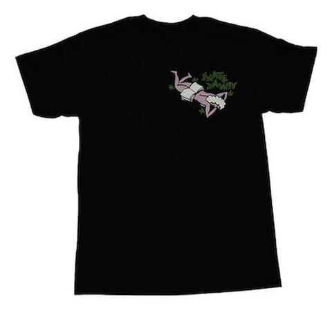 SKATE JAWN / Ass or Grass Tee - Black