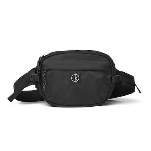 POLAR SKATE CO. / CORDURA HIP BAG  BLACK
