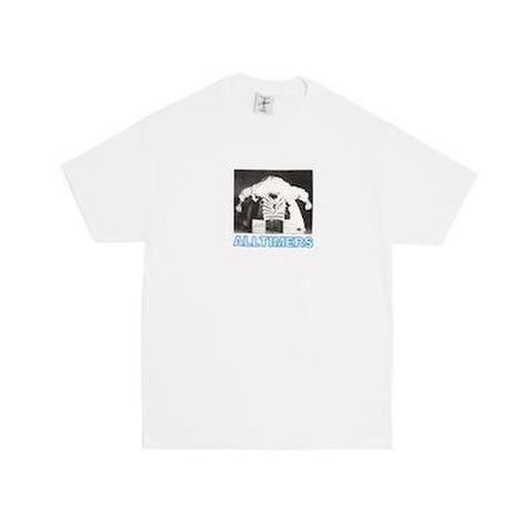 "ALLTIMERS / Head Cracker T-Shirt ""White"""