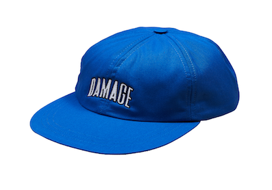 DAMAGE / 6 PANEL CAP ROYAL BLUE