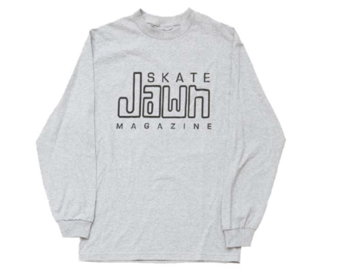 SKATE JAWN / COMPACY JAWN L/S TEE - GRAY