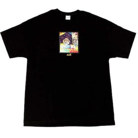 """SNACK SKATEBOARDS / '""""Memo Book""""TEE at by Bay Hill BLACK"""