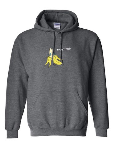 FREEDUMB / Crying Banana Hoodie