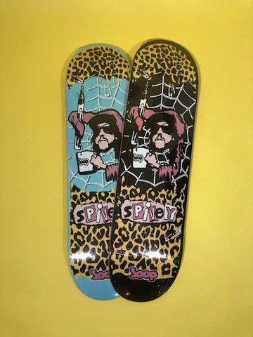 SOUP SKATEBOARDS / DECK [JASON SPIVEY]