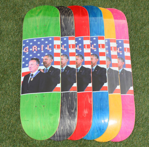 GRILL SKATEBOARDS / Two Great Guys DECK 8,3 INCH