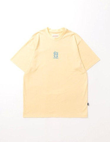 VICTORIA / OFFSET QUEENHEAD T SHIRT ECRU