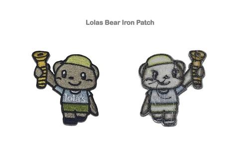 Lola's Hardware / Lolas Bear Iron Patch