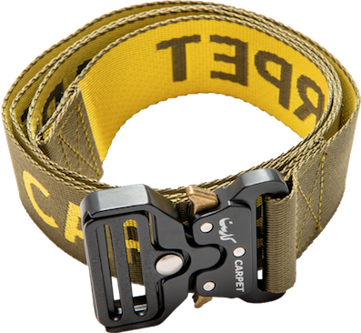 CARPET COMPANY / TACTICAL BELT MILITARY GREEN