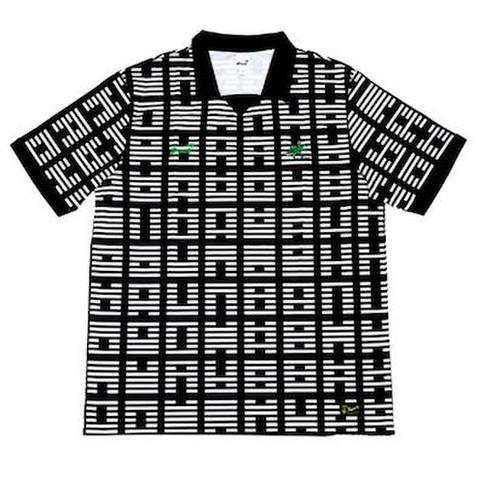 SNACK / I CHING SOCCER JERSEY BLACK