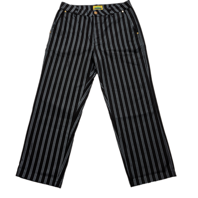 CARPET COMPANY / BAGGY-ISH PINSTRIPE WORK PANTS