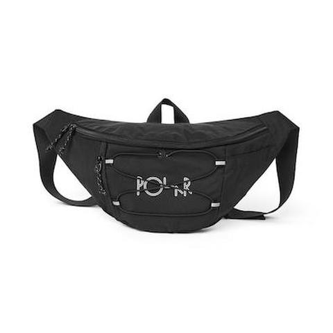 POLAR SKATE CO. / SPORT HIP BAG - BLACK