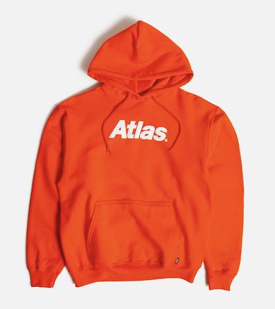 ATLAS / Atlas Logo Pullover ORANGE