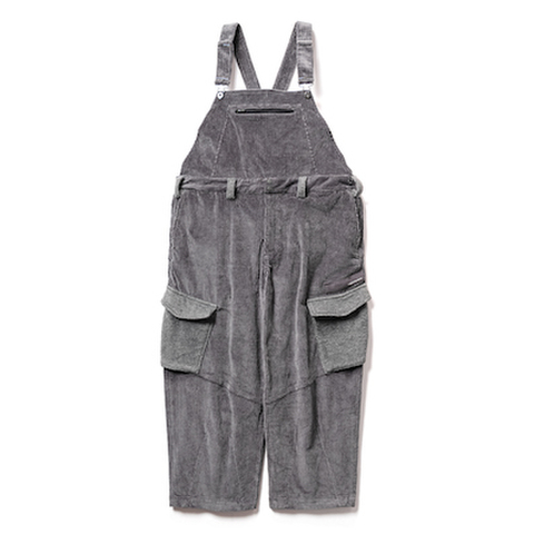 TBPR / CORD OVERALL CHARCOAL