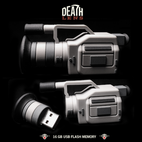 DEATH LENS / 16GB Miniature VX1000 Flash Memory drive