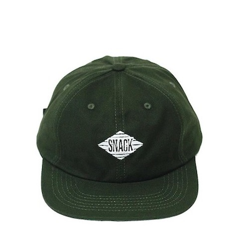 SNACK SKATEBOARDS / JIVE HAT - FOREST GREEN
