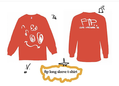 lola's hardware / FTP long sleeve RED
