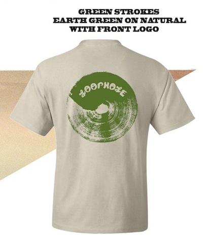 LOOPHOLE WHEELS / BRUSH TEE 55% HEMP 45% COTTON BLEND
