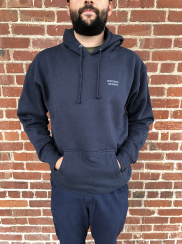 NORTHERN CO. / LOGO HOODIE NAVY