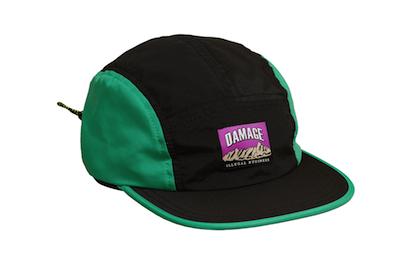 DAMAGE / ILLEGAL BUSINESS CAMP CAPS [Black/Teal]