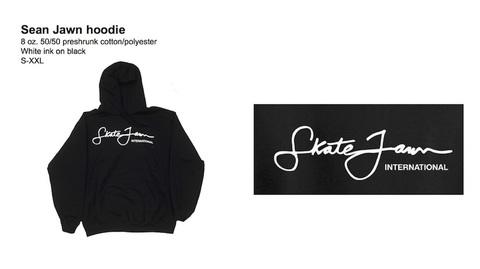 SKATE JAWN / Sean Jawn hoodie BLACK