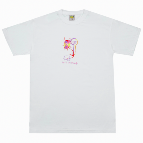 FROG SKATEBOARDS / Tree Spirit Tee - White
