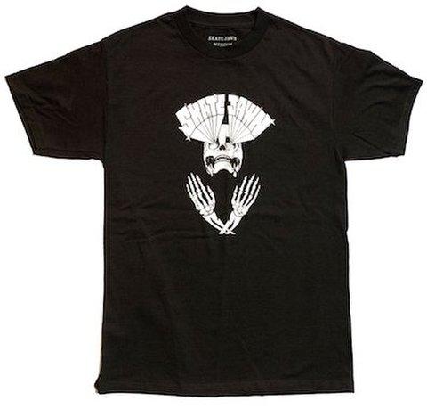 SKATE JAWN / Lazer Skull Tee - Black