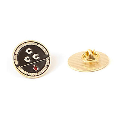 COLOR COMMUNICATIONS / CCC PIN BADGE