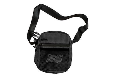 DAMAGE / CROSSBODY BAG BLACK