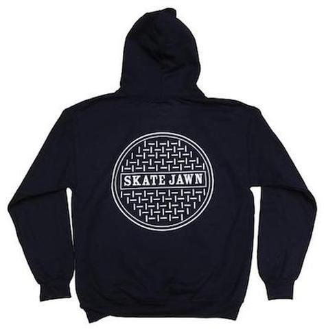 SKATE JAWN / Sewercap Hoodie - Navy