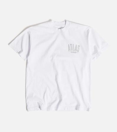 ATLAS / Atlas Plane Tee WHITE