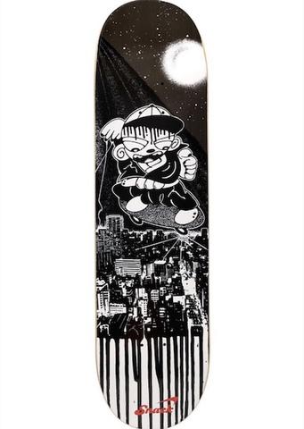 SNACK SKATEBOARDS / SNACK JAPAN LTD [Kill The City] art by Pushu