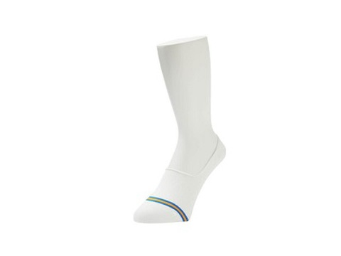 WHIMSY / NO SHOW SOCKS WHITE