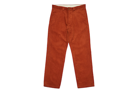 WHIMSY / CORDUROY CHINOS RUST