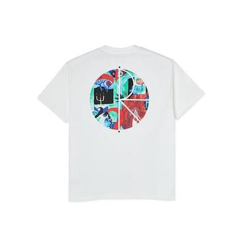 POLAR SKATE CO. / MOTH HOUSE FILL LOGO TEE
