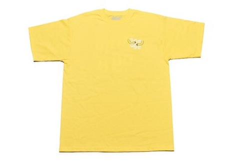 DAMAGE / HUGGIN TEE BANANA YELLOW