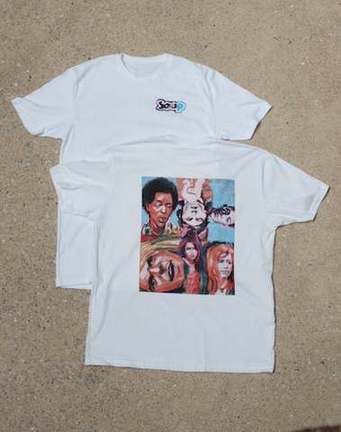 SOUP SKATEBOARDS / 27CLUB TEE