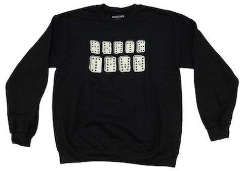 SKATE JAWN / Domino crew black