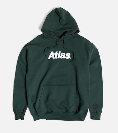 ATLAS / Atlas Logo Pullover FOREST GREEN