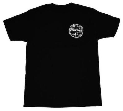 SKATE JAWN / Sketchy Sewer Tee - Black