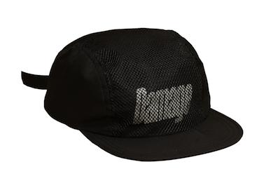 DAMAGE / 4 PANEL CAPS BLACK