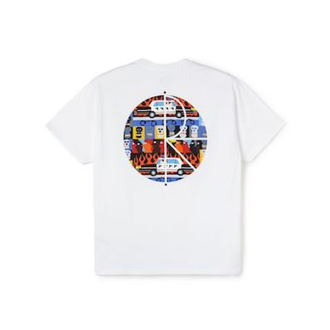 POLAR SKATE CO. / ACAB FILL LOGO TEE