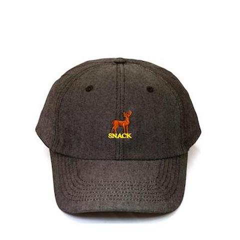 SNACK / BUCK HAT - BLACK DENIM