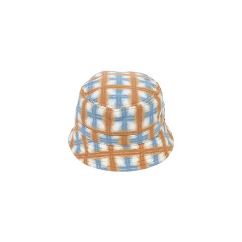 WHIMSY / RUN PLAID HAT WHITE