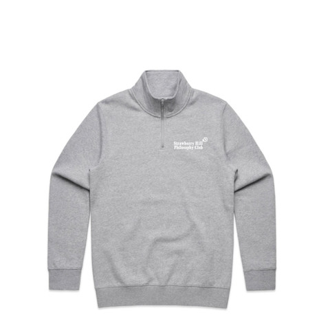 Strawberry Hill Philosophy Club / EMBROIDERED QUARTER ZIP