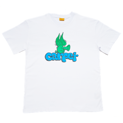CARPET COMPANY / RODENT TEE WHITE