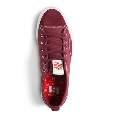 STATE FOOTWEAR /  Politic X Harlem - Black Cherry