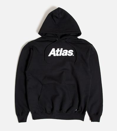 ATLAS / Atlas Logo Pullover BLACK