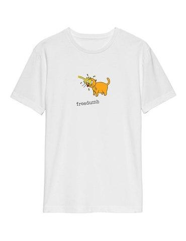 FREEDUMB / Piss Cat Tee