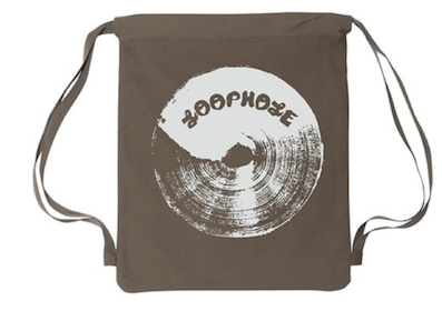 LOOPHOLE WHEELS / CANVAS BACKPACK- Khaki - with zip